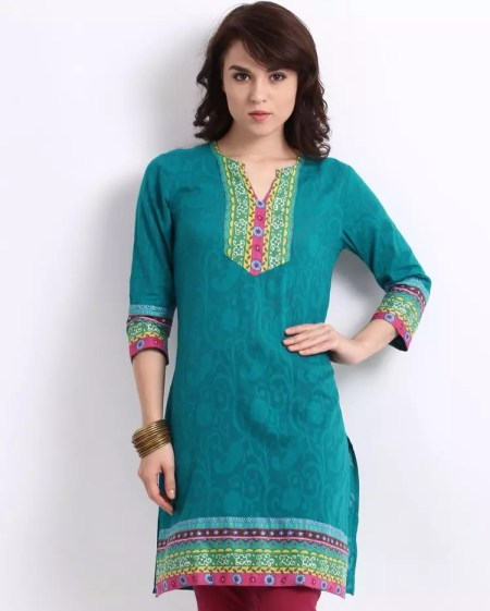 ladies-kurta-design-with-jeans-for-summer12