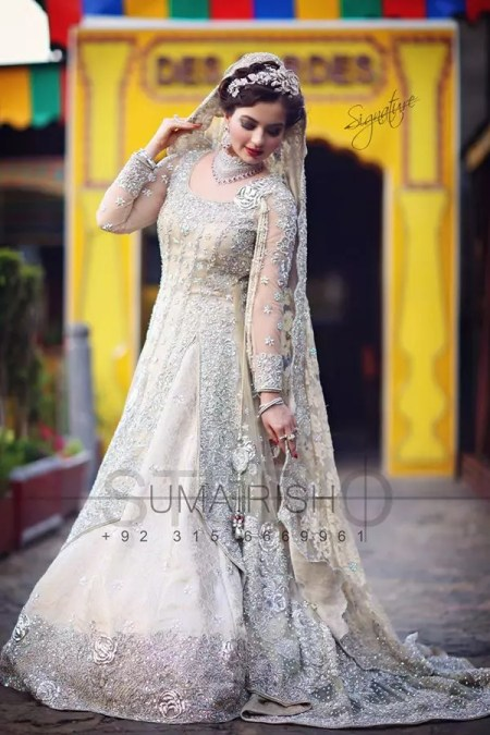 pakistani bridal dresses pictures 2017-2018