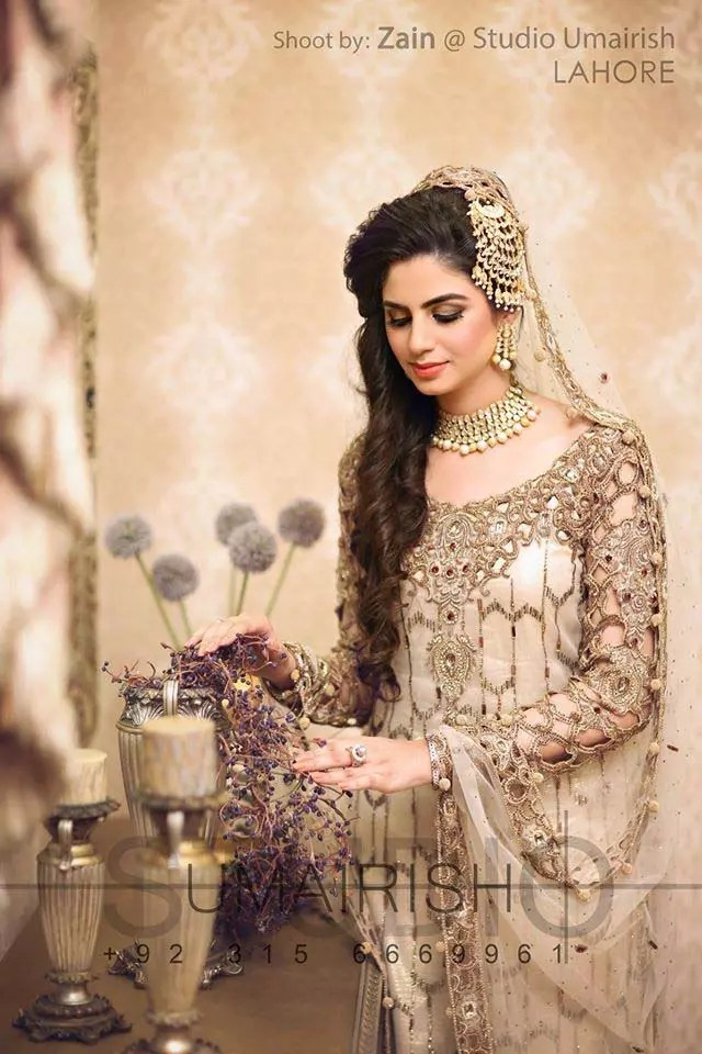 Latest Pakistani Bridal Dresses Pictures 2017-2018