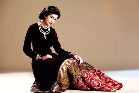 Winter Party Wear Dresses Designs For Wedding