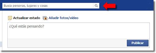 Borrar del registro de actividad las búsquedas que hacemos de Facebook