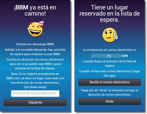 El futuro en BlackBerry Messenger en Android o iPhone
