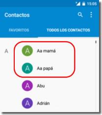 """Cómo añadir un contacto Aa """"Avisar a"""" en la pantalla de bloqueo del teléfono"""