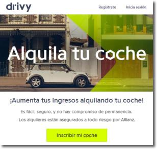 Drivy Open permite alquilar un coche, encontrarlo y abrirlo con el teléfono