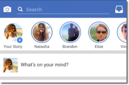 Facebook Stories, las historias efímeras de Facebook