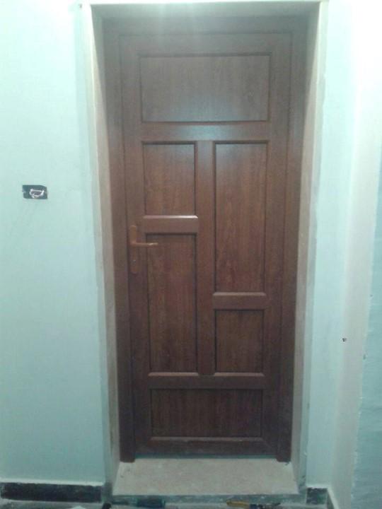 wood pvc door