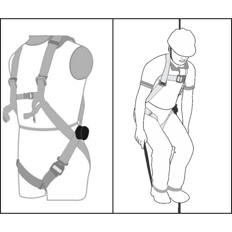 Veiligheids harnas trauma band