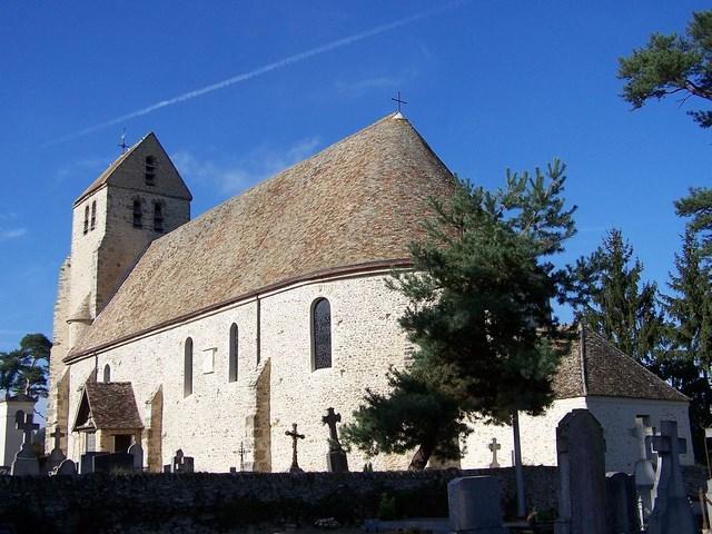 Eglise Grosrouvre GR22
