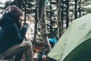 Randonnée itinérante camping