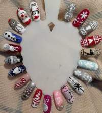 Best Christmas Nail Art Designs/Ideas and Inspirations to