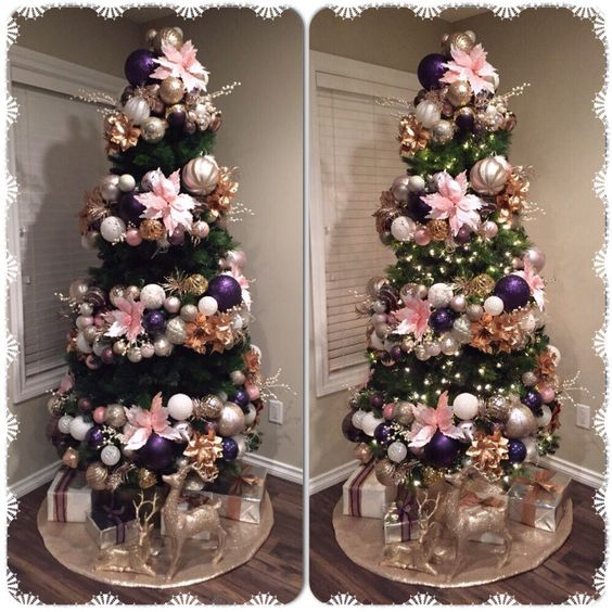 50 Rose Gold Christmas Decor Ideas So That Your Home Tells A Sweet Romantic Story Hike N Dip
