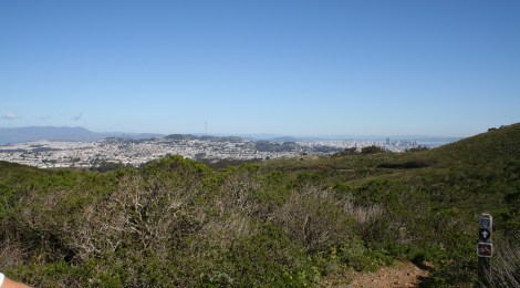 Blisters, views and tough inclines at San Bruno