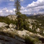 Yosemite Wilderness as far as the eye can see. (Day two)