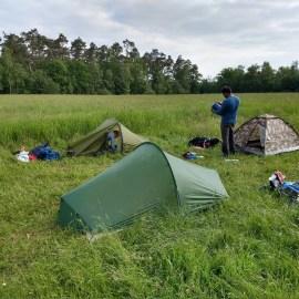 Hike/Bivak Antwerpse Kempen, België, 31 mei t/m 2 juni 2019