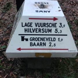 Snelle hap & hike Groene Wissel Baarn, 27 augustus 2020