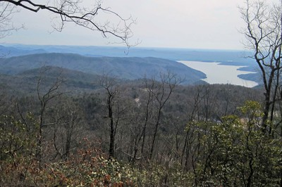 Foothills Trail - view to Jocassee Lake