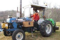 MST17C-on a tractor