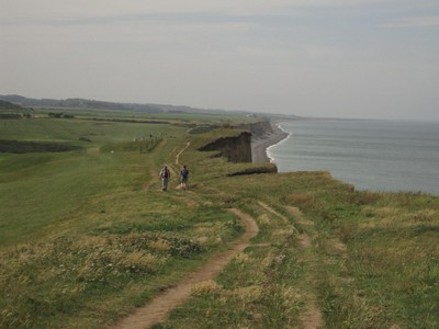 Norfolk Coast Path - coastal view