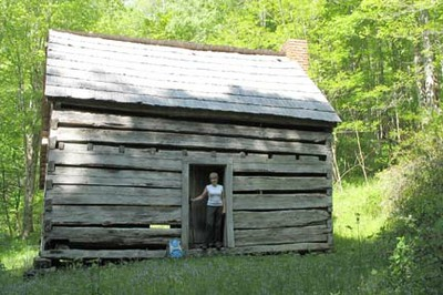 Little Cataloochee cabin