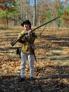 Rev War Patriot at the Battle of Kings Mountain