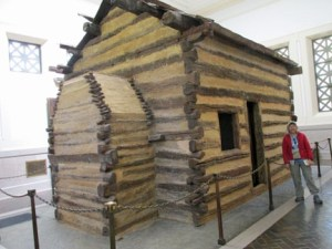 Cabin at Lincoln Birthplace
