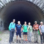 FNS group at the tunnel