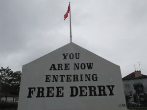 Bogside in Derry
