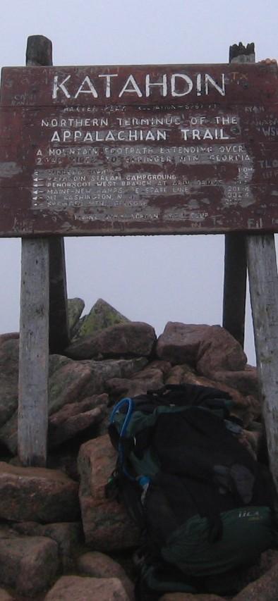 ULA Circuit Backpack on Mt. Katahdin.