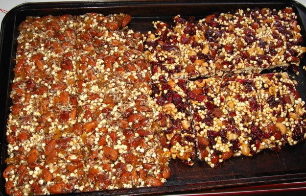 Homemade Kind style bars