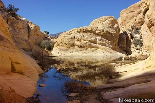 Calico Tanks Trail  Red Rock Canyon  Hikespeakcom