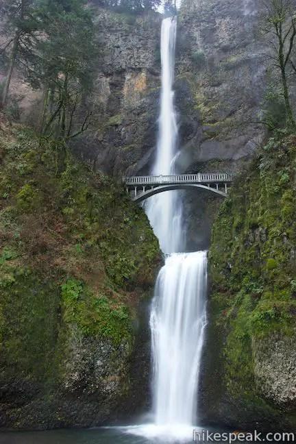 Adirondack Fall Wallpaper Multnomah Falls Trail Oregon Hikespeak Com