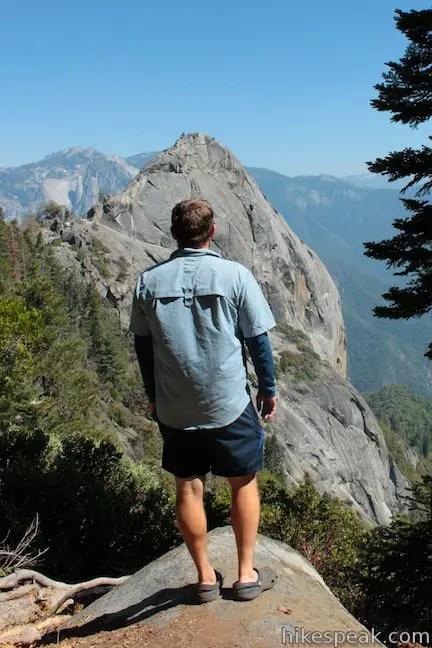 Hanging Rock Trail Sequoia Hikespeak Com