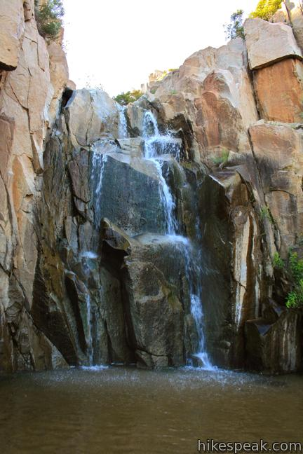 Ortega Falls Trail Santa Ana Mountains Hikespeak Com