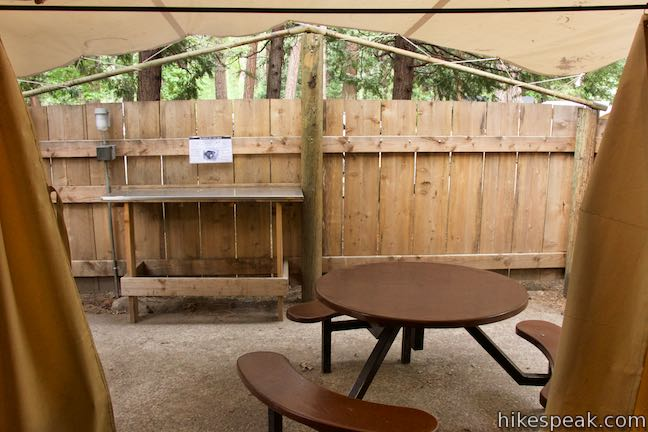 Housekeeping Camp  Yosemite National Park  Hikespeakcom