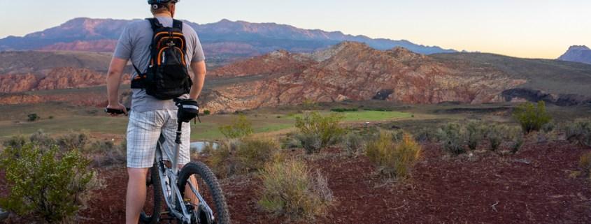 Mountain biking in Southern Utah