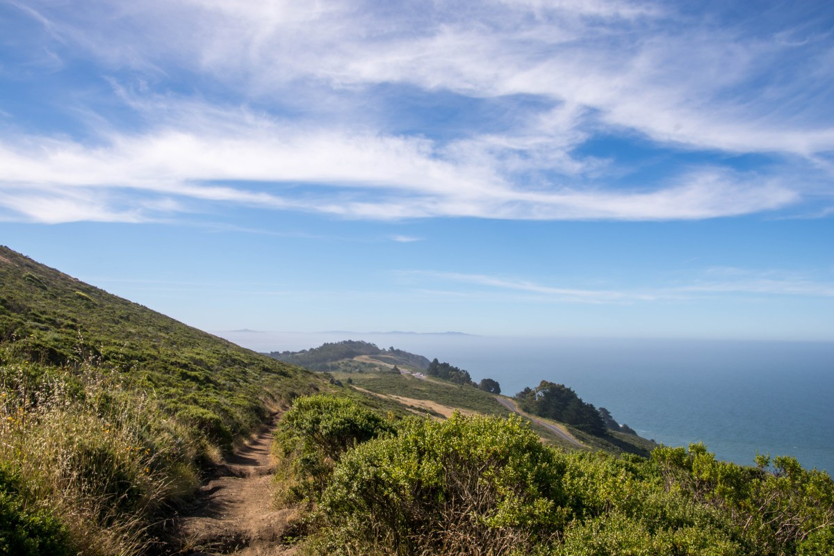 Coastal View Trail - Mt Tam