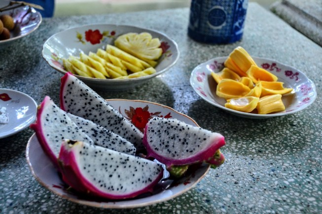 are you a vegetarian in vietnam? dont skip the fruit