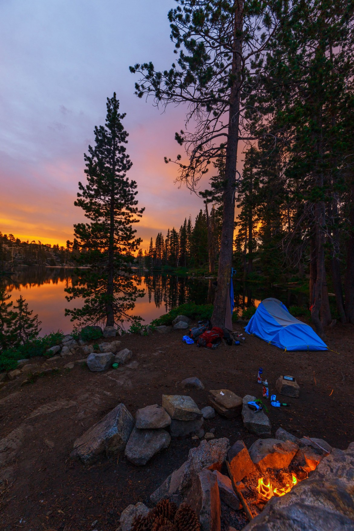 The Best Lake Tahoe Campsite Secret And Beautiful Loch