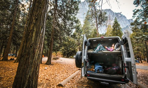 Goodbye, freezing in tents: an affordable taste of the #vanlife is here