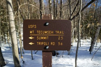 Trip Report: Mt. Tecumseh (Waterville Valley, NH), February 19 2017