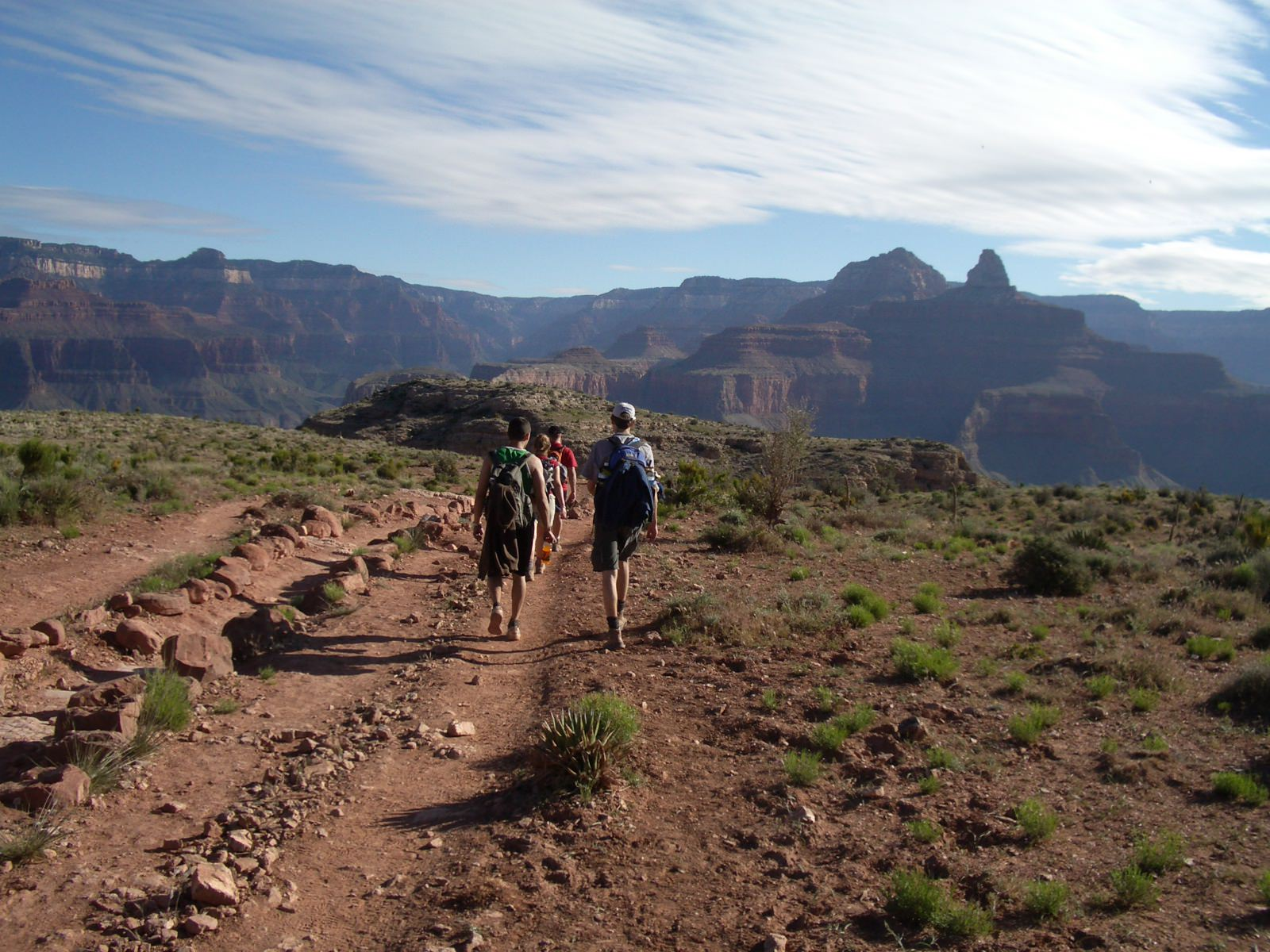 #ThrowbackThursday: Grand Canyon – South Kaibab to Bright Angel Loop,  April 2005