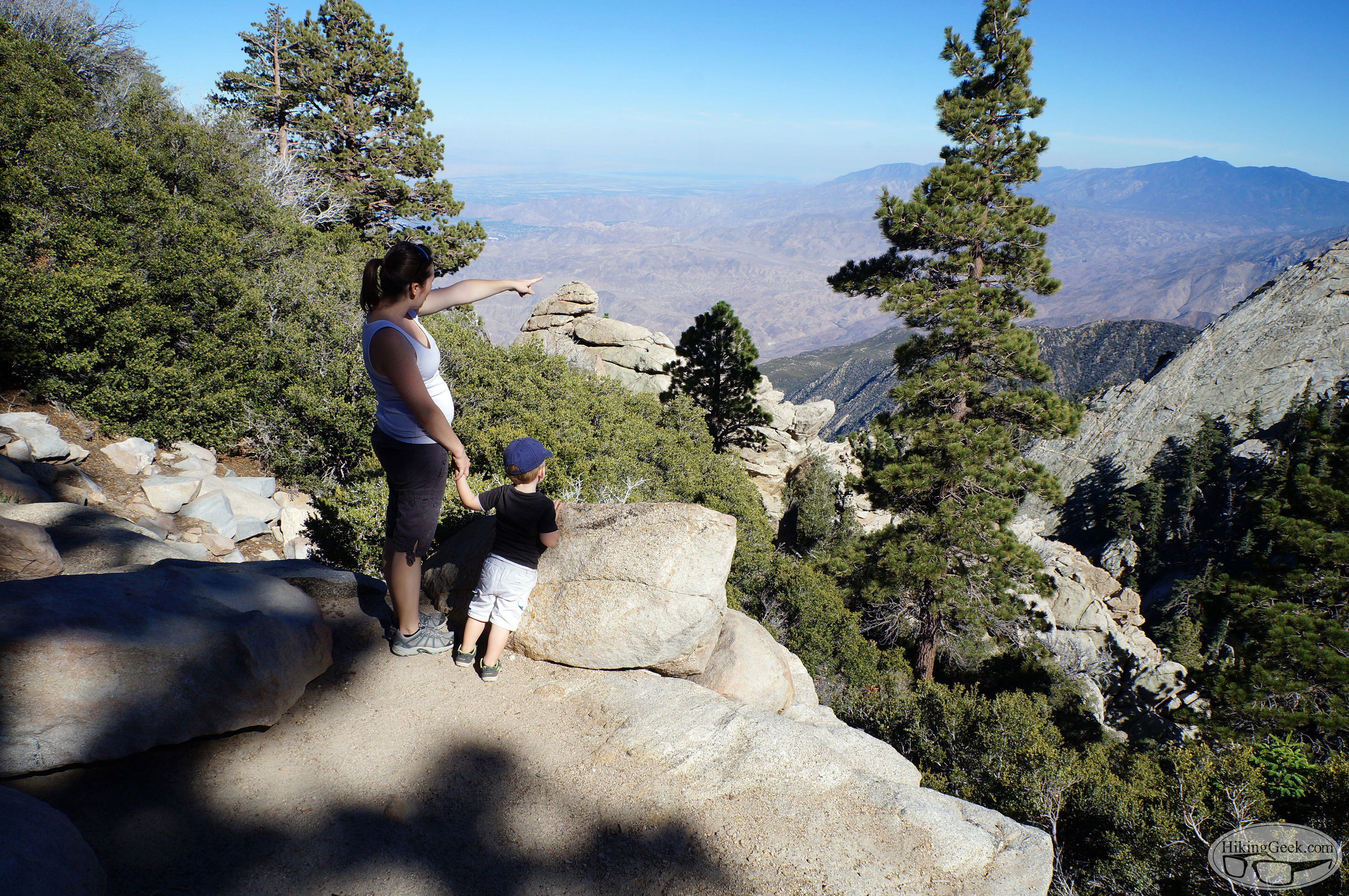 Hiking With Kids: San Jacinto's Desert View Trail, July 25 2015