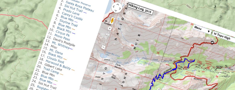 2015 Hiking Log - Hiking Photos, Trip Reports, Trail Info