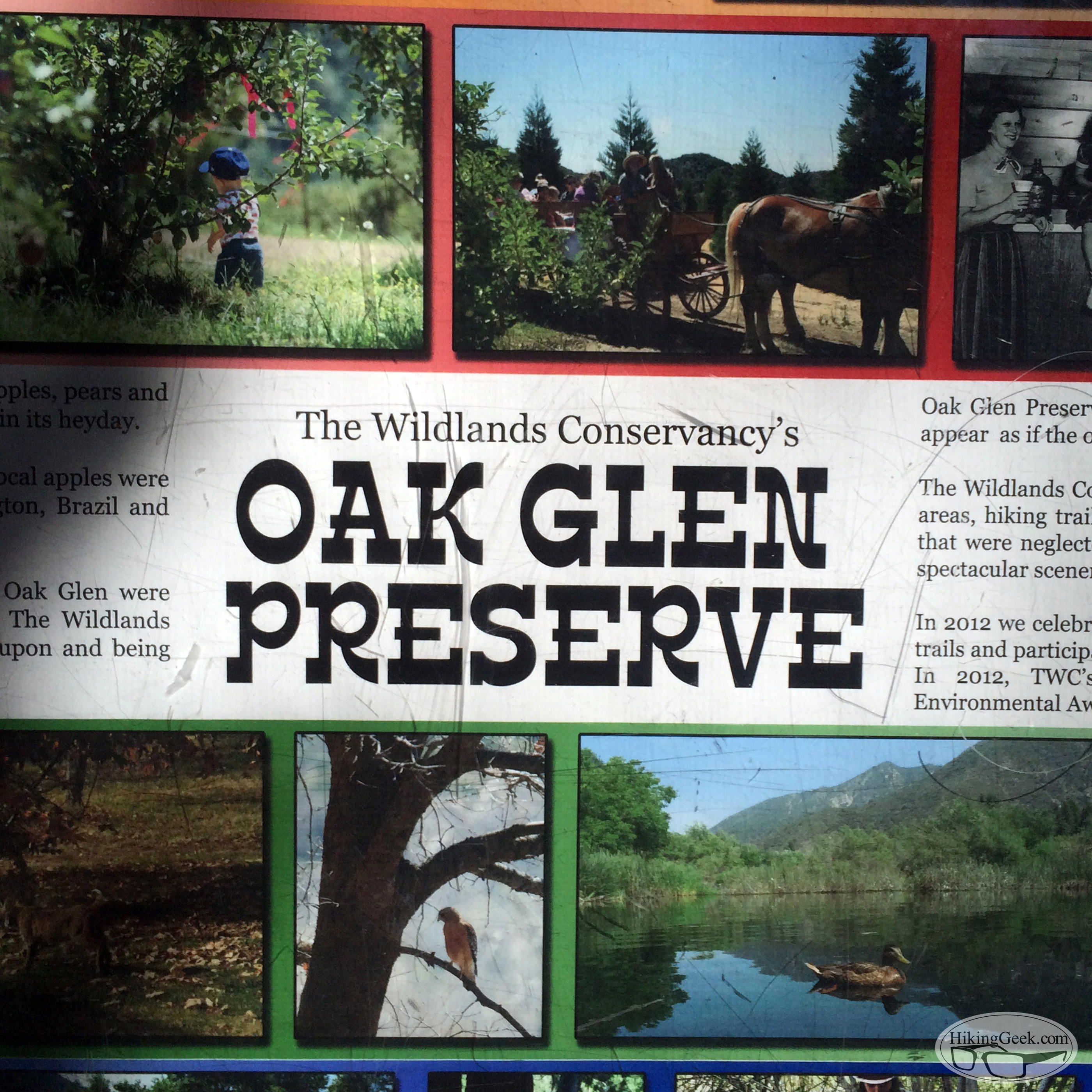 Hiking with Kids: Oak Glen Preserve, September 5 2015