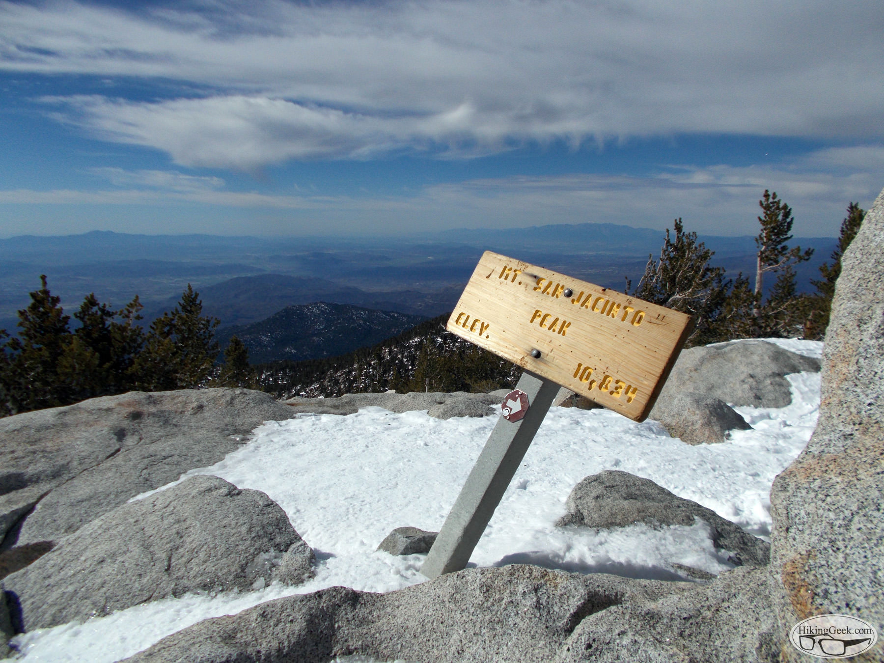 San Jacinto Peak Tramshoe, February 16 2013