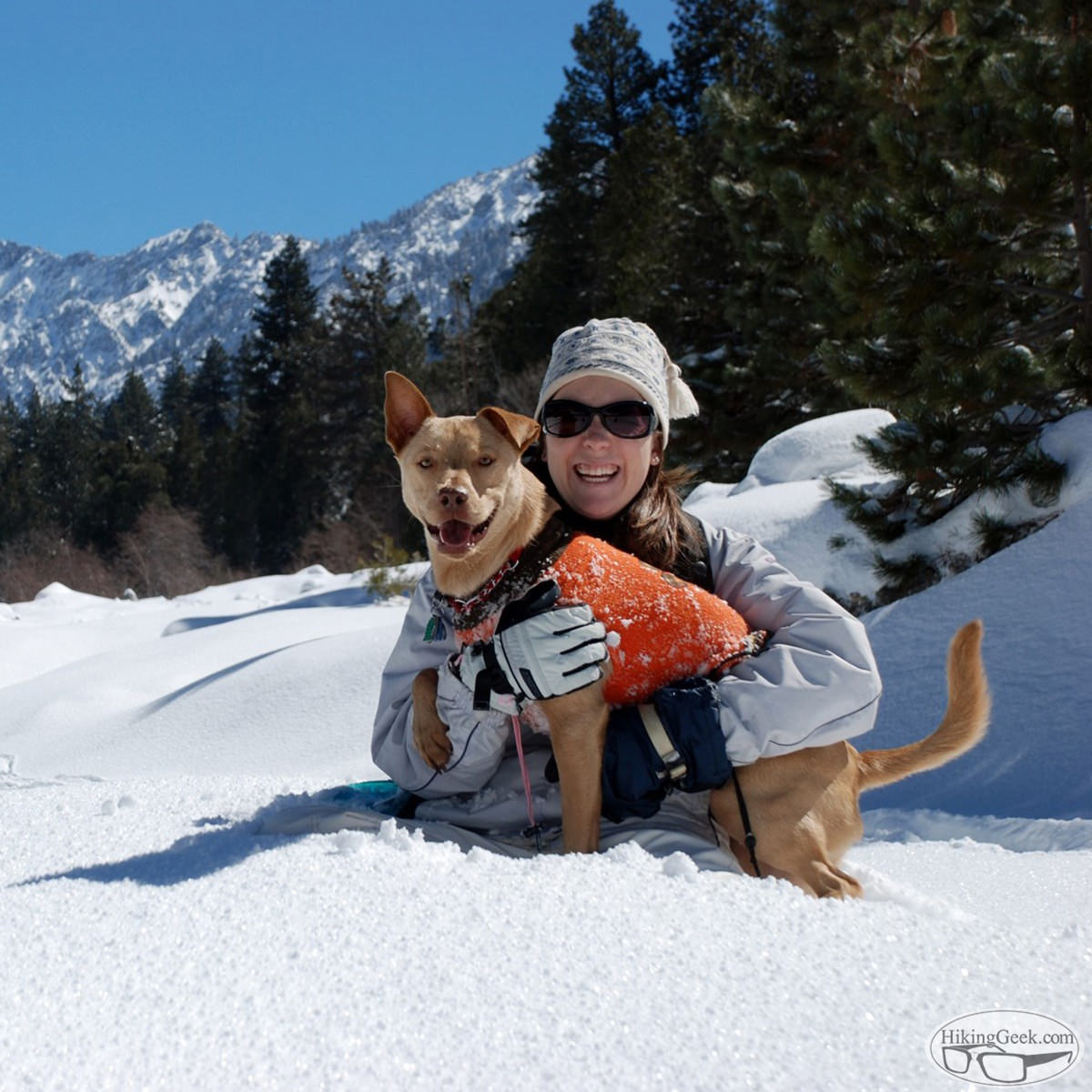 #ThrowbackThursday: A short hike and playing in the snow, 2011