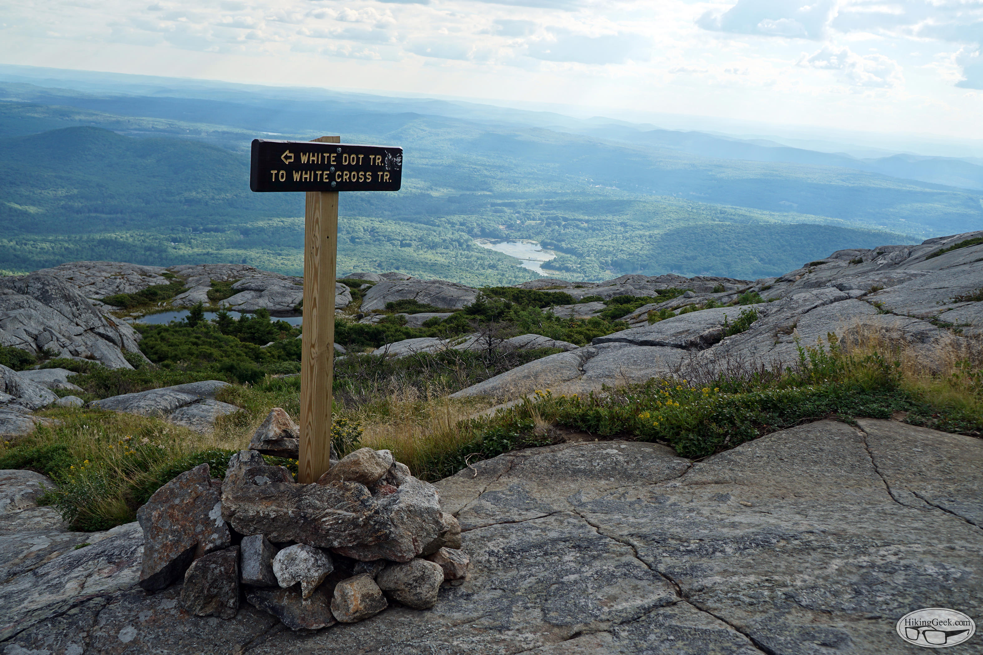 Mt. Monadnock via White Dot and White Cross Trails