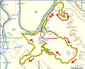 Ultimate XC Moab 50K Near Arches National Park Moab Utah
