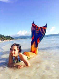 人魚 ボラカイ島