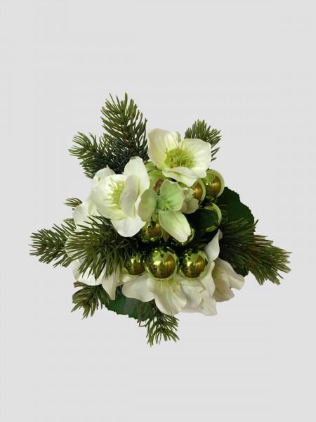 Weihnachtsstrau Nr6  Blumenstrauss knstlich mit